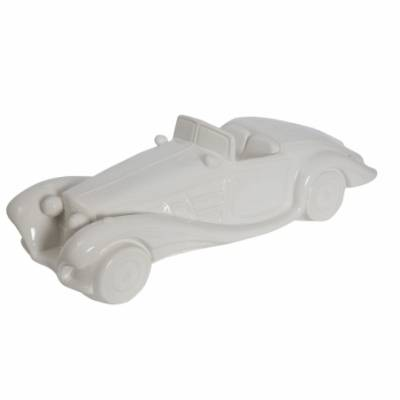 Car Old Style White Cm 43X16X13