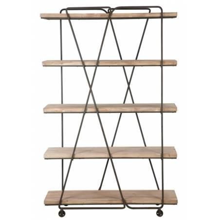Book Shelf Trox Cm 119,5X44X187 - 2
