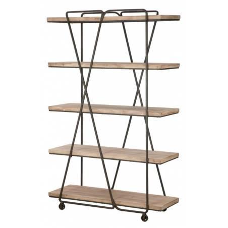 Book Shelf Trox Cm 119,5X44X187 - 5