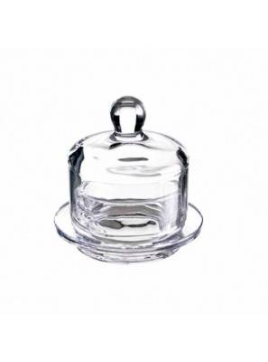Favor in jewelry glass with lid Ã~75