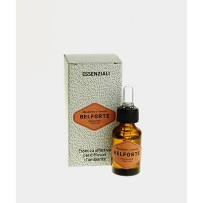 Huile Essentielle Concentrée - Belforte - Parfum Mandarine et Cannelle 15 ML