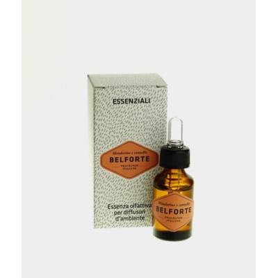 Konzentriertes ätherisches Öl - Belforte - Mandarinen- und Zimtduft 15 ML