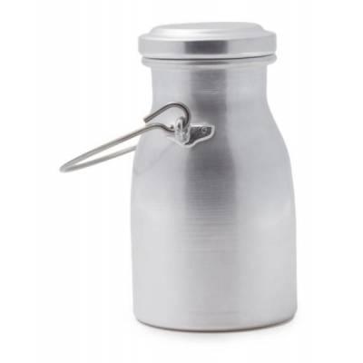 Bidoncini per Latte in Alluminio - Stile Vintage Retrò - 1 Lt