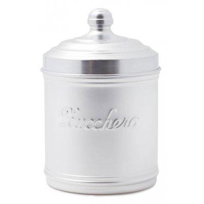 Pot à Sucre en Aluminium avec Couvercle - Style Country / Rétro